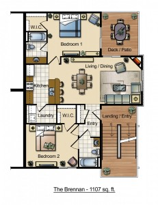 The Brennan Floor Plan