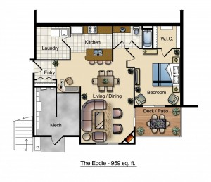The Eddie Floor Plan