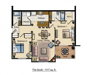 The Scott Floor Plan