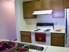 Vista Pointe furnished kitchen pass through 111005