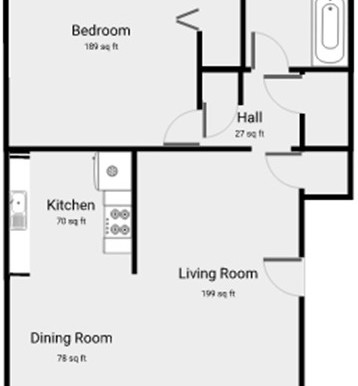 BW Floor Plan