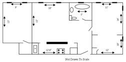 PH 305 floor plan